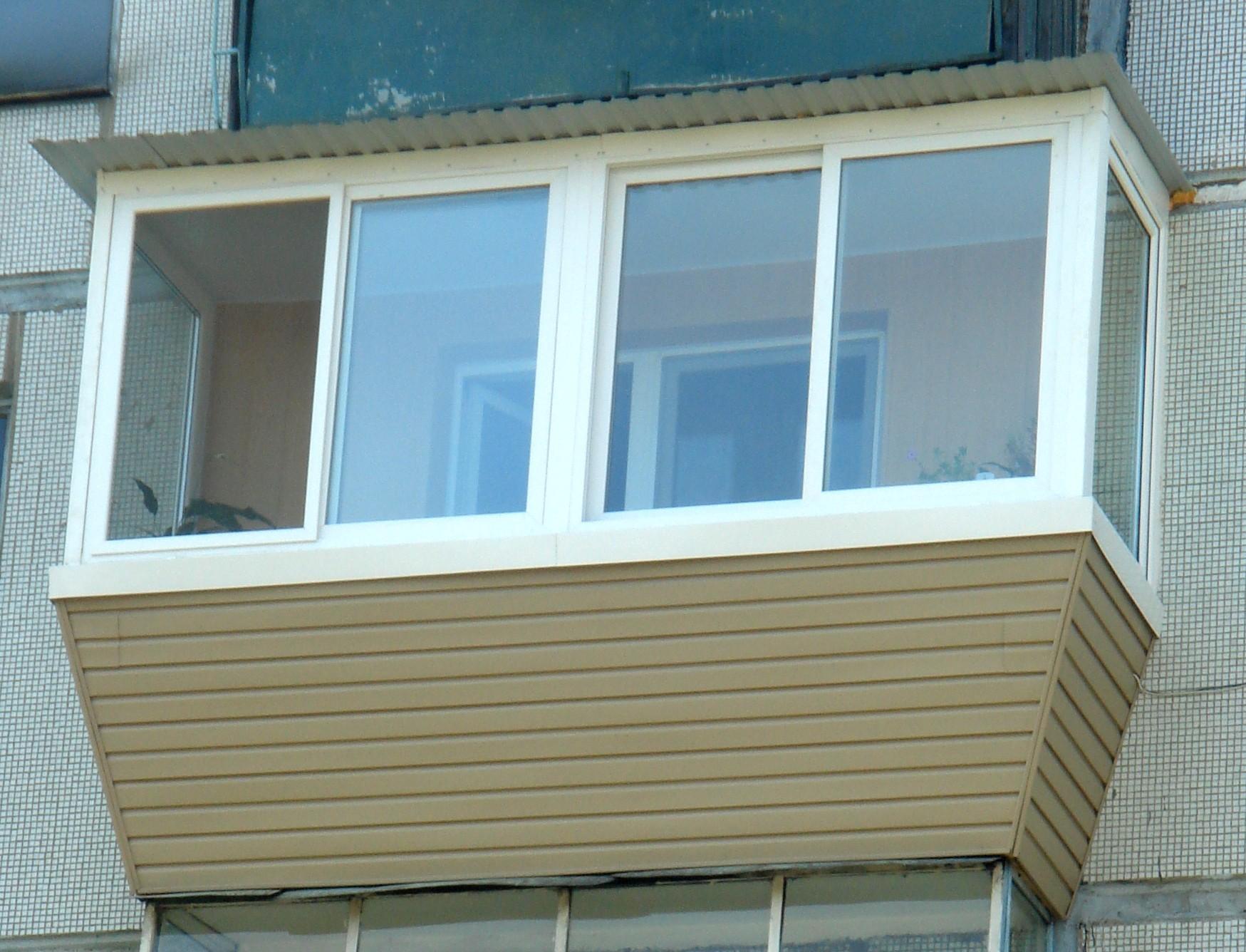 Отделка балкона с выносом своими руками фото