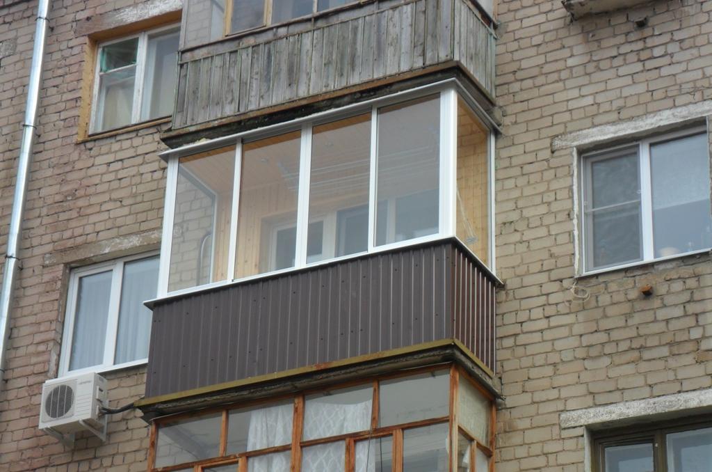 Балкон в хрущевке вид снаружи балкон в хрущевке.