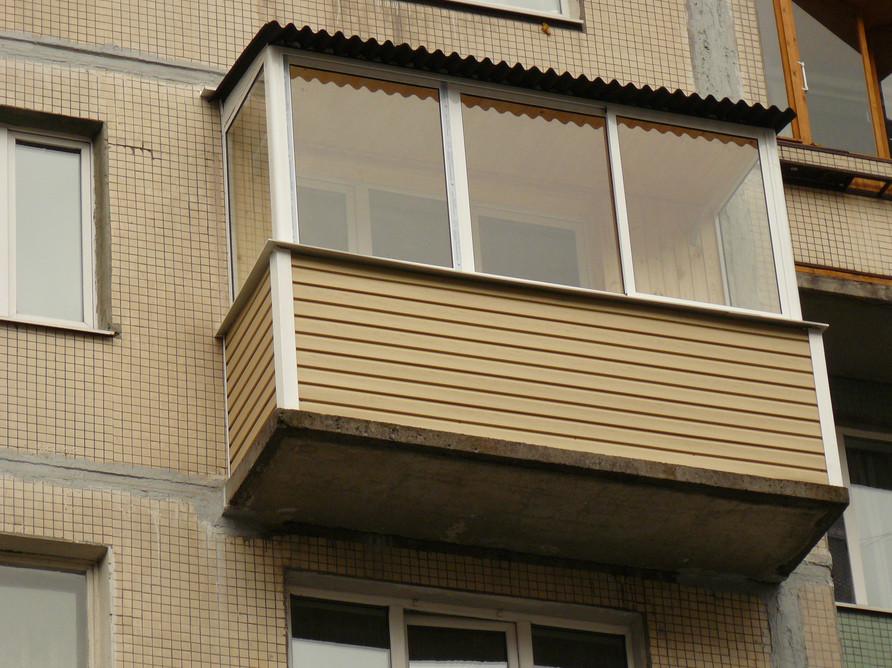 Наружная отделка балкона сайдингом пошаговая инструкция сове.