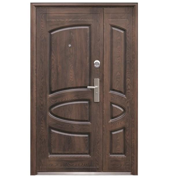 дверь металлическая двухстворчатая в тучково